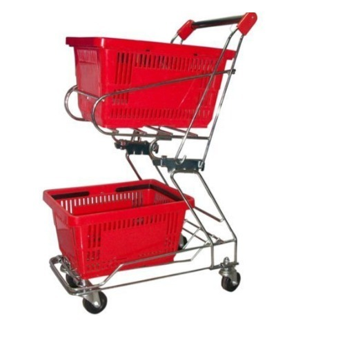 Basket Trolley In Boleng