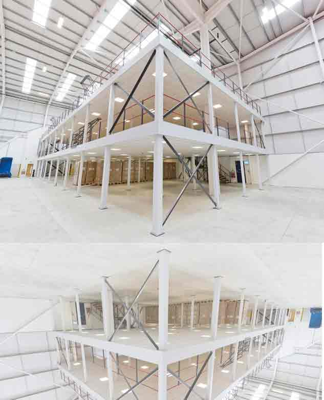 Mezzanine Floor System In Nagaon Beach