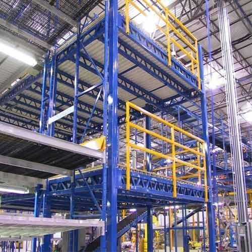 Industrial Mezzanine Floor System In Tuting