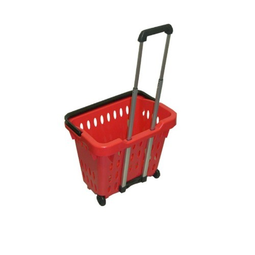 Plastic Basket With Wheel In Boleng