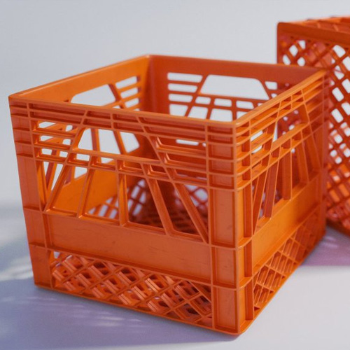 Plastic Crates In France