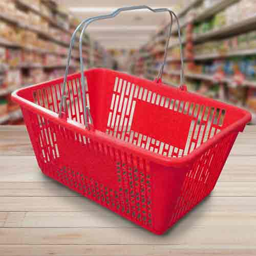 Shopping Baskets In Tuting