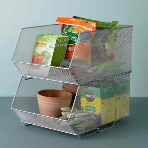 Stackable Bins In Tuting
