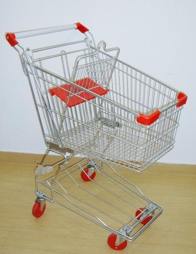 Steel Shopping Trolley In Boleng